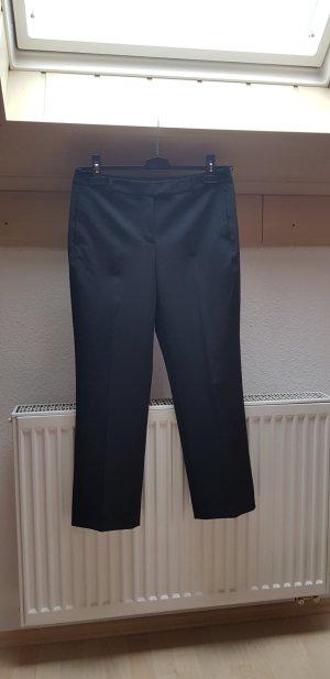 Strenesse Gabriele Strehle Pantalon à pinces noir tissu mixte