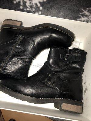 Bufallo Boots mit echtem Fell