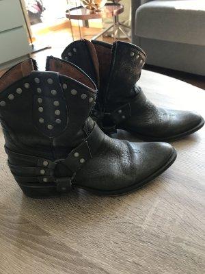 Buffallo boots damen Leder