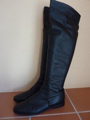 Buffalo London Cuissarde noir cuir