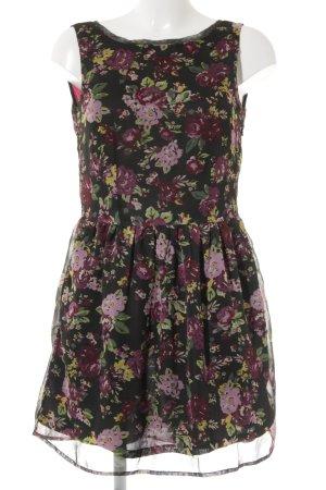 Buffalo A-Linien Kleid Blumenmuster Casual-Look