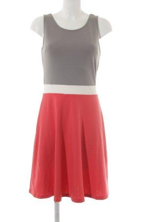 Buffalo A-Linien Kleid Colourblocking Casual-Look