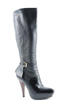 Buffalo Absatz Stiefel schwarz Elegant