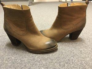 Buffalo Ankle Boots Beige