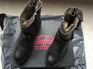 Buffalo Biker Boots Gr.37 grau braun NEU