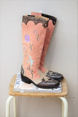 Buffalo Western Boots multicolored leather