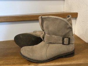 Buffalo Korte laarzen beige