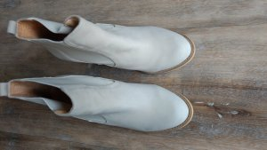 Buffalo Ankle Boots natural white leather