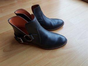 Buffalo Boots, Kurzschaft-Stiefel, schwarz