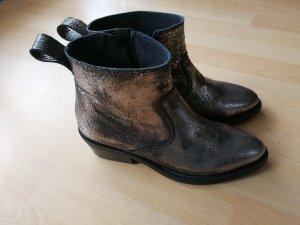 Buffalo Boots, Metallic-Look
