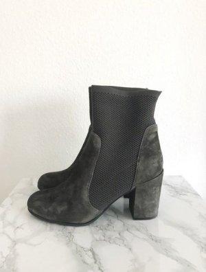 Buffalo Boots Stiefelette Stiefel Pumps grau Größe 40