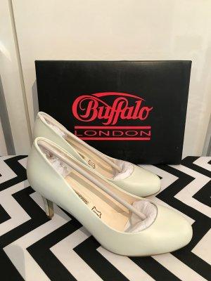 Buffalo Brautschuhe Gr.39 Pumps weiß/creme High Heels
