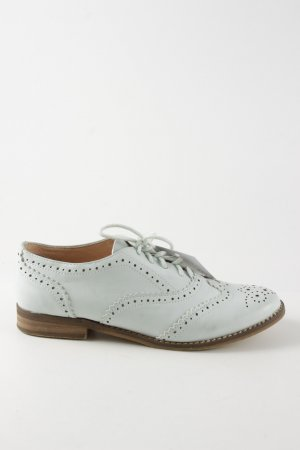 Buffalo Zapatos Budapest blanco estilo «business»