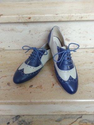 Buffalo Budapester Schuhe blau grau 39