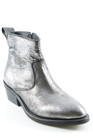 Buffalo Chelsea Boots silberfarben Casual-Look
