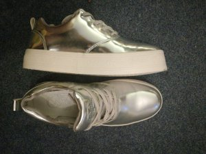 Buffalo Damen Metallic Sneaker