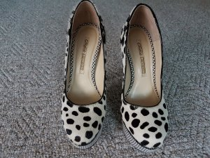 Buffalo Damen Plateau Pumps im Animalstyle