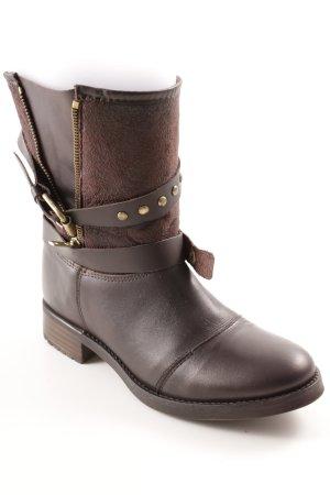 Buffalo Desert Boots dunkelbraun Casual-Look