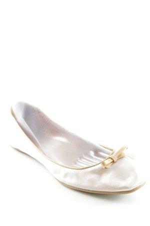 Buffalo Ballerina pieghevole rosa pallido-beige elegante