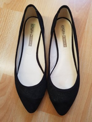 Buffalo Flats/Ballerinas schwarz mit Glitzer Gr.38
