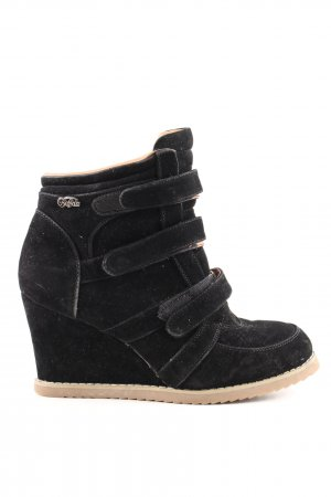 Buffalo girl Absatz Sneaker schwarz Casual-Look
