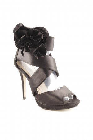 Buffalo girl High Heel Sandal black elegant