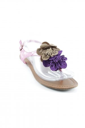 Buffalo girl Strapped Sandals floral pattern casual look