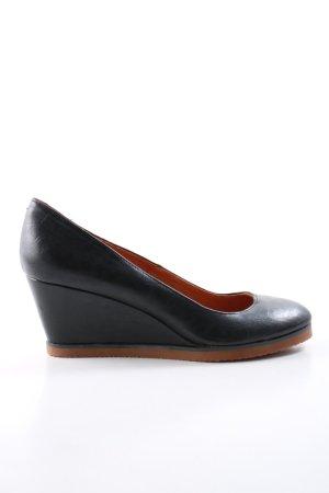 Buffalo girl Slip-on Shoes black business style