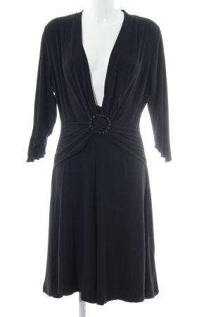 Buffalo girl Stretchkleid schwarz Elegant