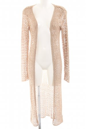 Buffalo Coarse Knitted Jacket nude simple style