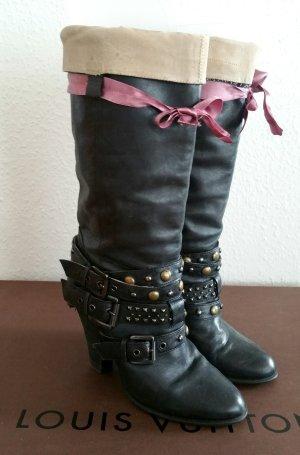 Buffalo halbstiefel ibiza edelhippie kawaii lolita coachella slouch boots gr 40