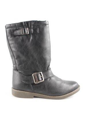 Buffalo Halfhoge laarzen zwart casual uitstraling
