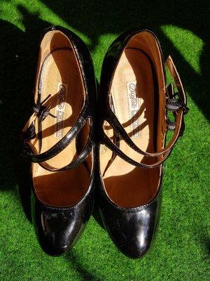 Buffalo Heels , Schwarz Lack
