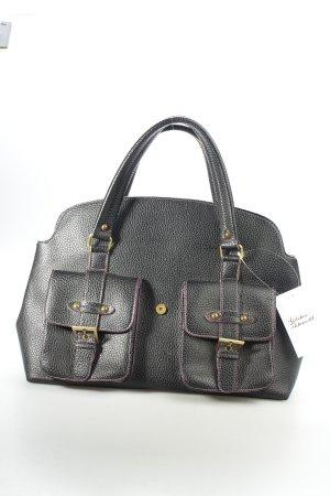 Buffalo Carry Bag black-dark violet Rivet elements