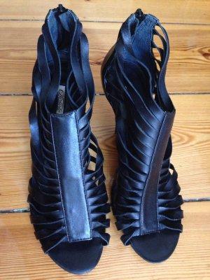 Buffalo High Heel Sandal schwarz Trend