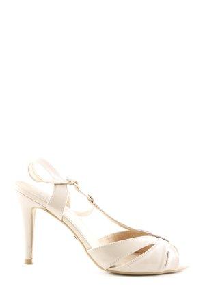 Buffalo High Heel Sandaletten creme Elegant
