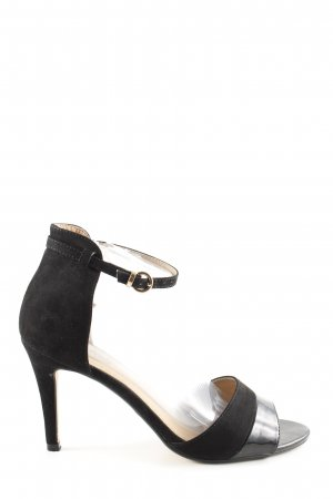 Buffalo High Heel Sandal black elegant