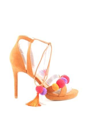 Buffalo High Heel Sandaletten mehrfarbig Casual-Look