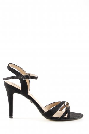 Buffalo High Heel Sandaletten schwarz Business-Look