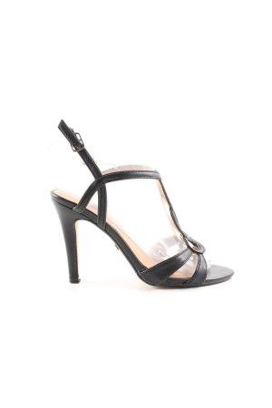 Buffalo High Heel Sandaletten schwarz Casual-Look