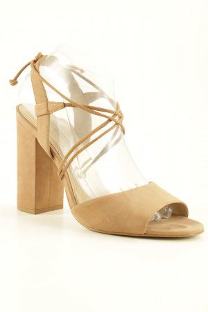 Buffalo High Heel Sandal light brown party style