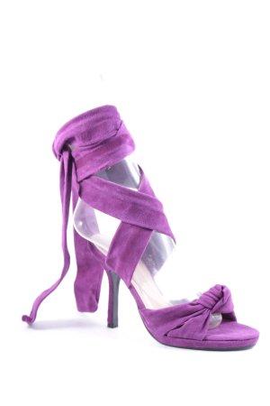 Buffalo High Heel Sandaletten mehrfarbig Romantik-Look