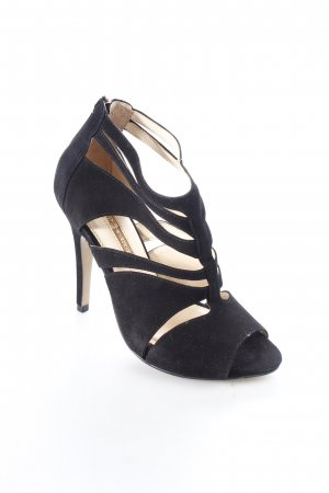 Buffalo High Heel Sandaletten schwarz Party-Look