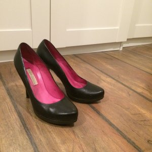 Buffalo High Heel schwarz, Gr 39