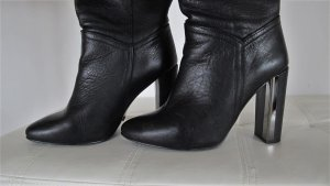 Buffalo High Heel Stiefel schwarz Gr. 38 - 39 NP 199,-€ ! TOP !!