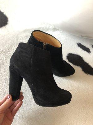 Buffalo high heel Stiefel Stiefeletten Boots Chelsea Boots Wildleder 38 Mode Blogger