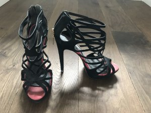 Buffalo London High Heel Sandal black suede