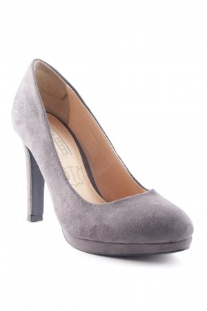 Buffalo High Heels anthrazit Elegant