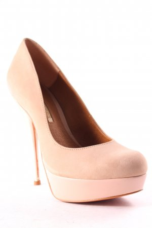 Buffalo High Heels beige Party-Look