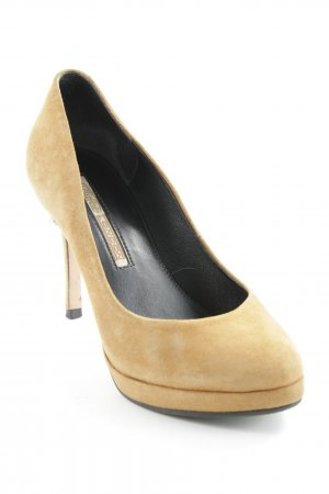 Buffalo High Heels camel Casual-Look